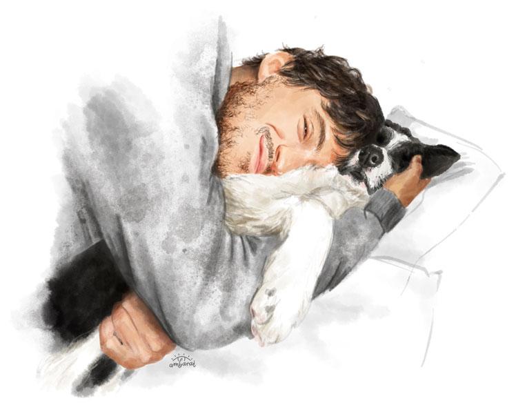 Retratos con mascotas. Mi perrita Piuma!